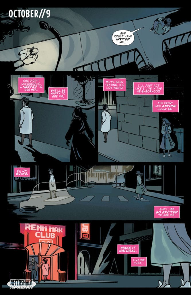 AfterShock Exclusive Preview: LONELY RECEIVER #3