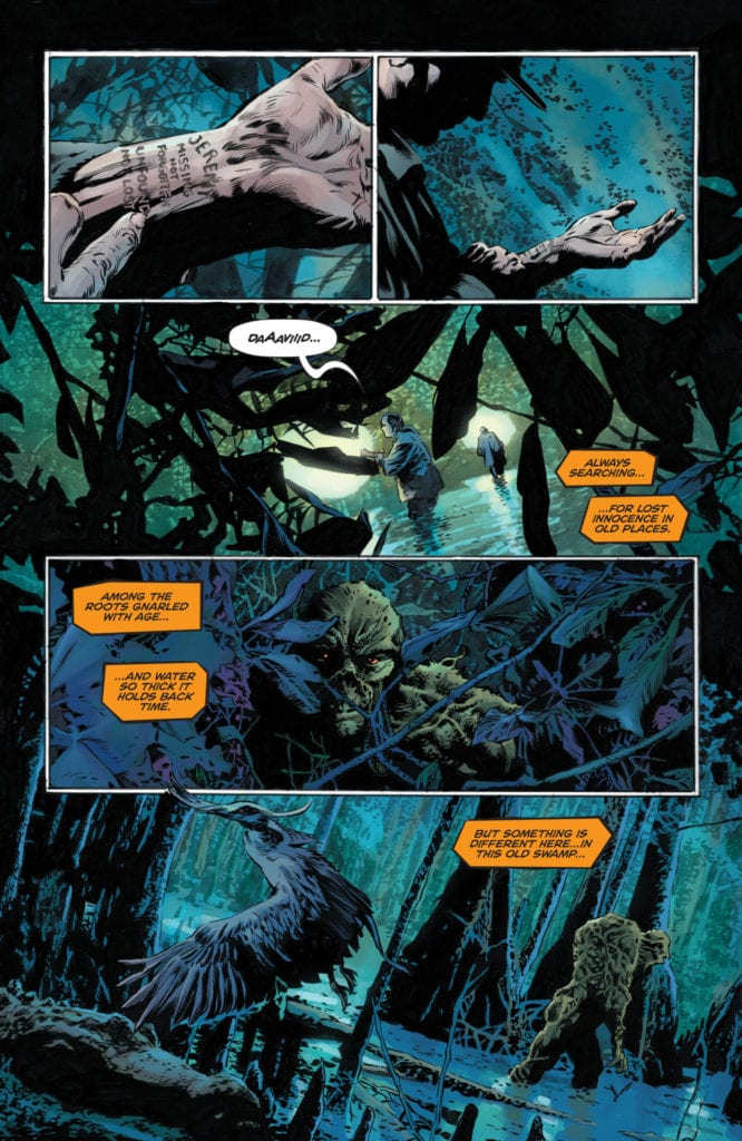 Legend of the Swamp Thing Halloween #1, Heart Of Trees2