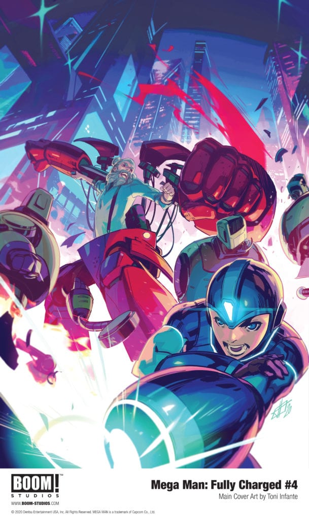BOOM! Studios Exclusive Preview: MEGA MAN: FULLY CHARGED #4