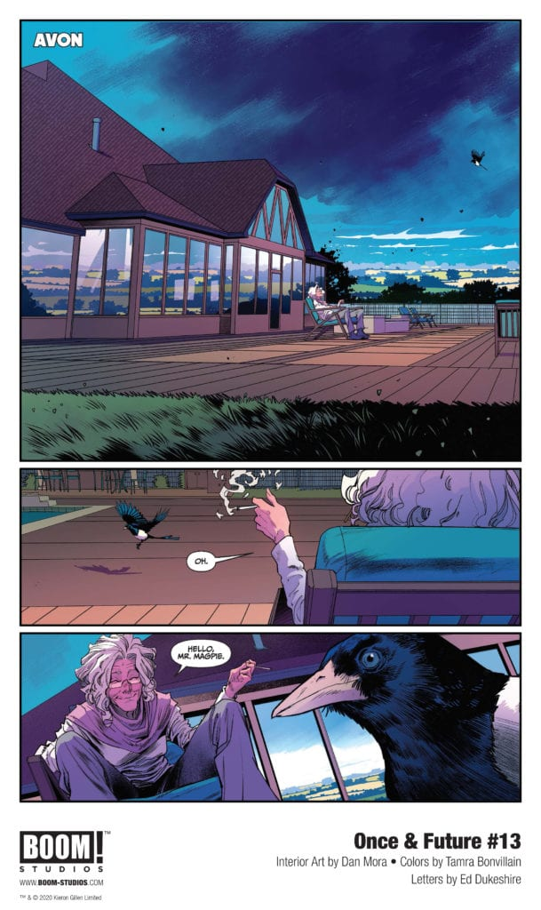 Exclusive First Look of Once & Future #13
