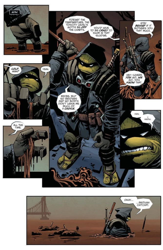 5-Page Preview: TEENAGE MUTANT NINJA TURTLES: THE LAST RONIN #1