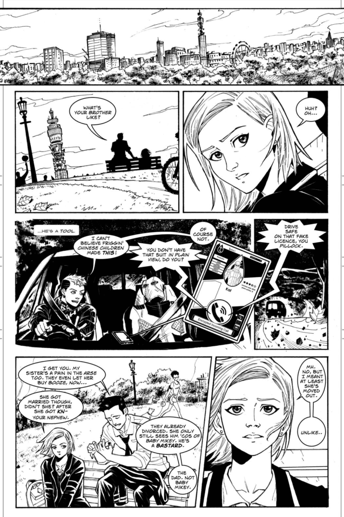 Buzzard #2 Page Sample