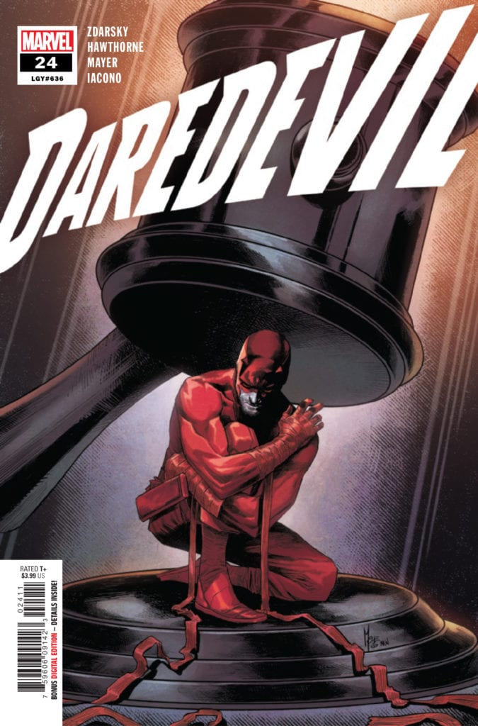marvel comics daredevil exclusive preview