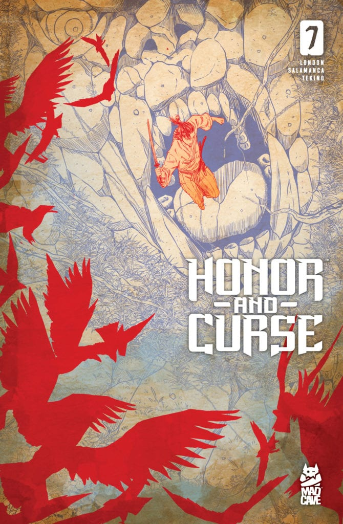 Exclusive Mad Cave Studios Preview: HONOR AND CURSE #7
