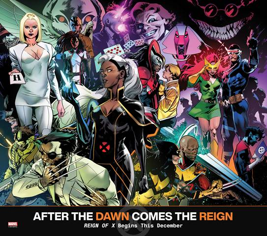 Reign Of X #1, promo image