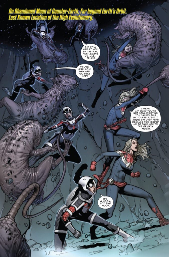 marvel comics exclusive preview spider-woman #6