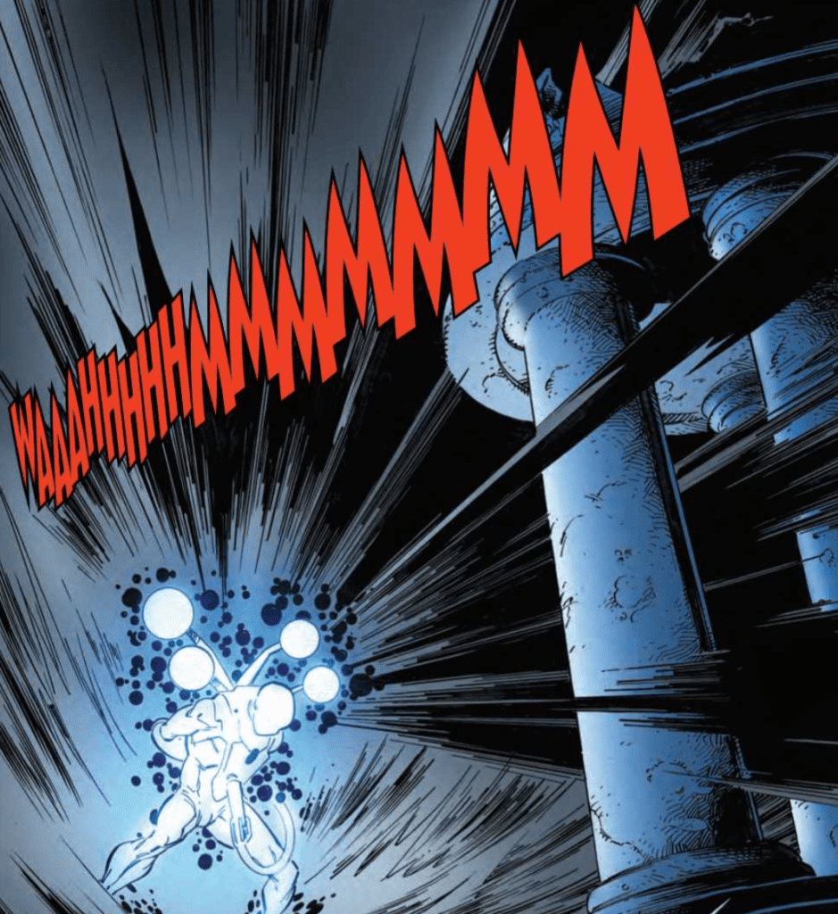 The Amazing Spider-Man #56 Lettering Example