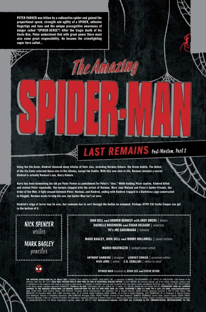 4-Page Preview: AMAZING SPIDER-MAN #57