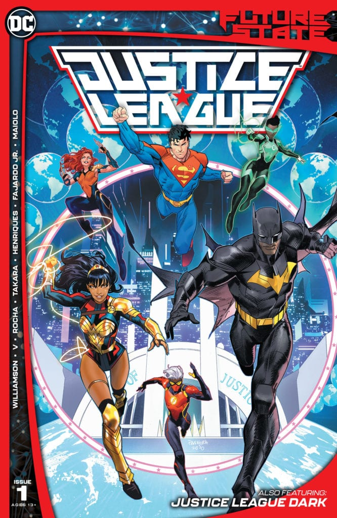 Future State Justice League 1 cover