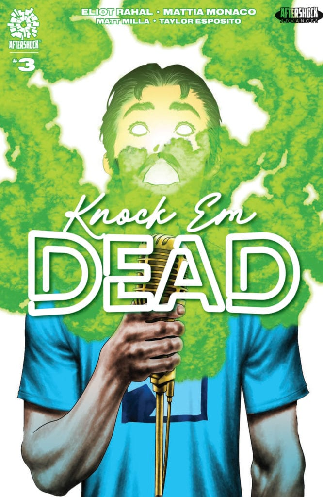 4-Page KNOCK 'EM DEAD #3 Preview From AfterShock Comics