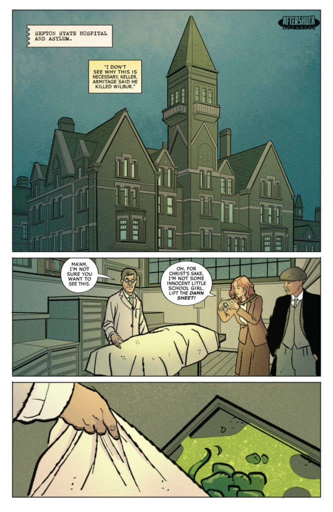 MISKATONIC #3 Four-Page Preview