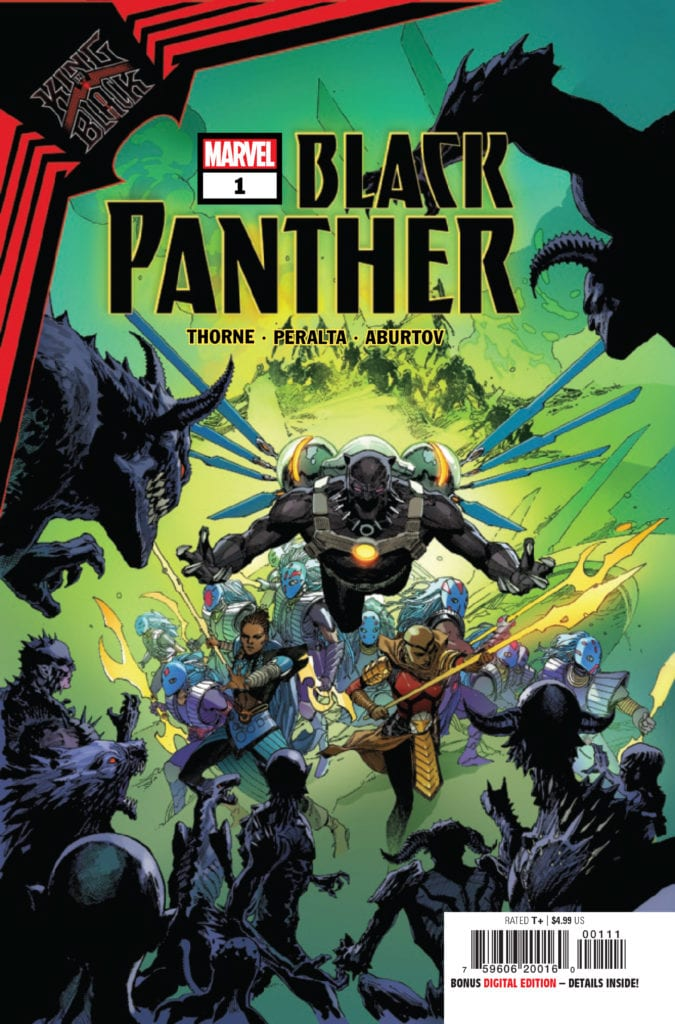 king in black black panther marvel comics exclusive preview