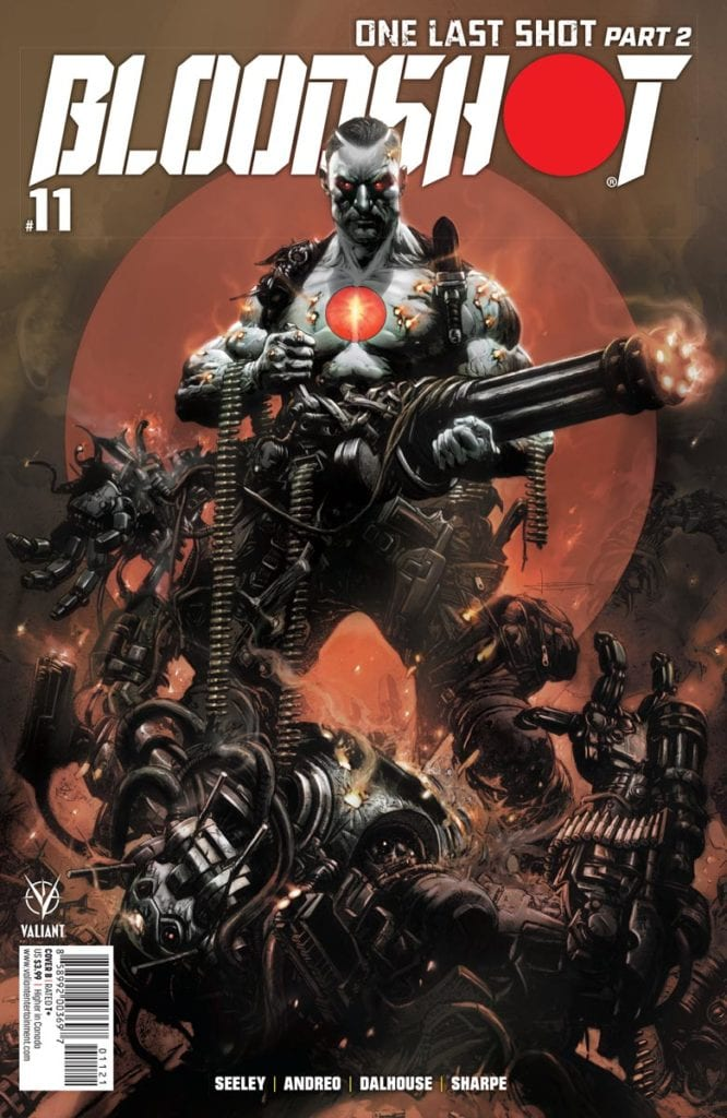 BLOODSHOT #11: Artist Pedro Andreo and Editor Lysa Hawkins Discuss The Political Timeliness