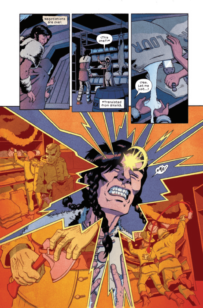 Arguably the best part of Marvel Indigenous Voices #1