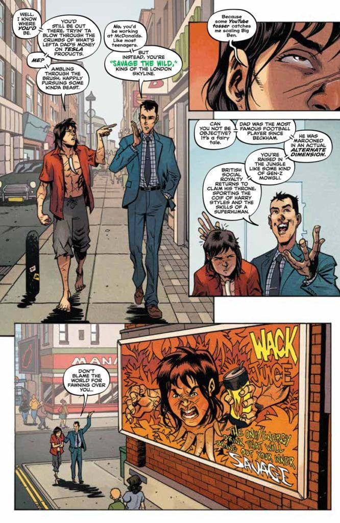 The influencing life in Savage #1