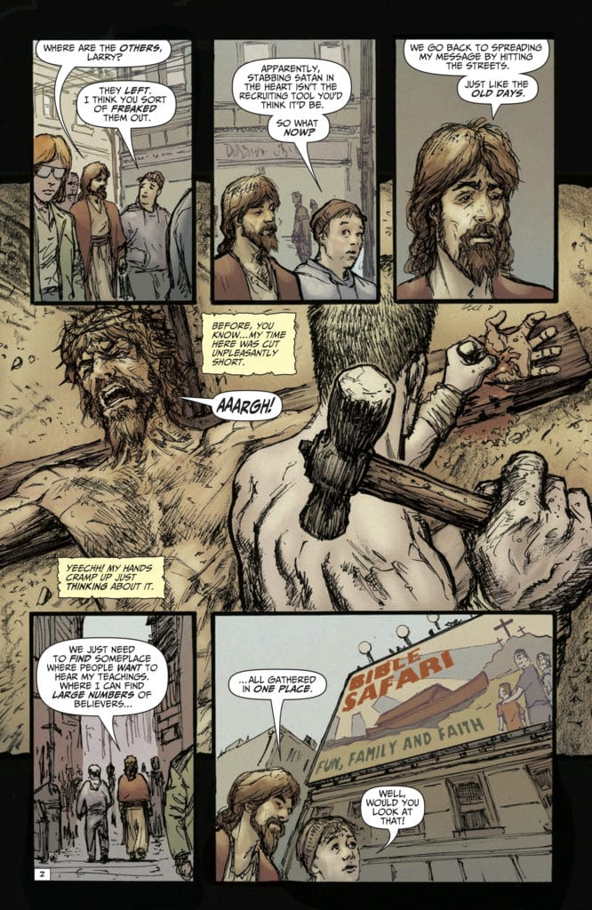 4-Page Preview SECOND COMING: ONLY BEGOTTEN SON #2