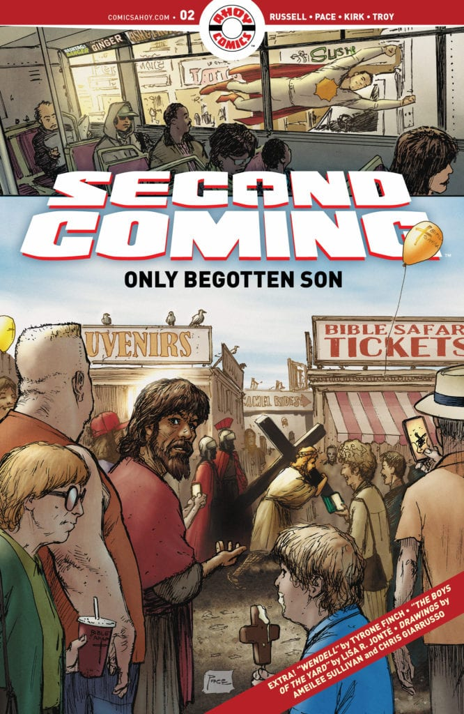 5-Page Preview: SECOND COMING: ONLY BEGOTTEN SON #2 From Ahoy Comics