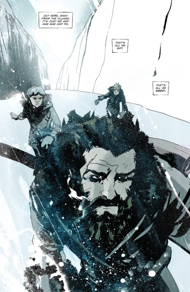 snow angels #1 review comixology