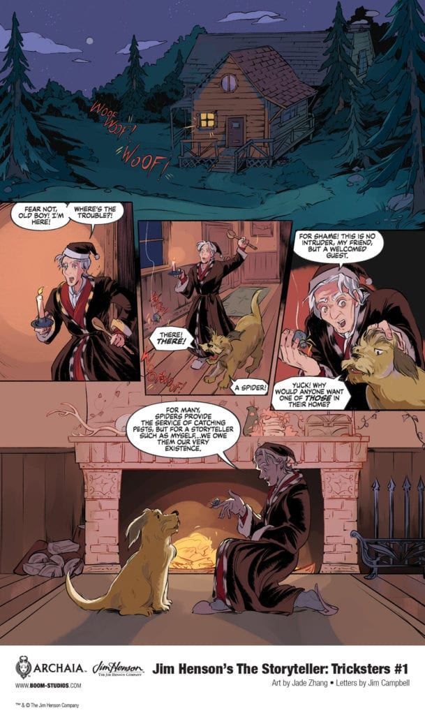 Exclusive First Look at JIM HENSON'S THE STORYTELLER: TRICKSTERS #1
