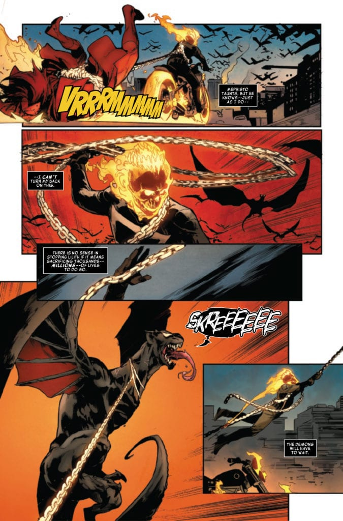 marvel comics exclusive preview king in black ghost rider #1