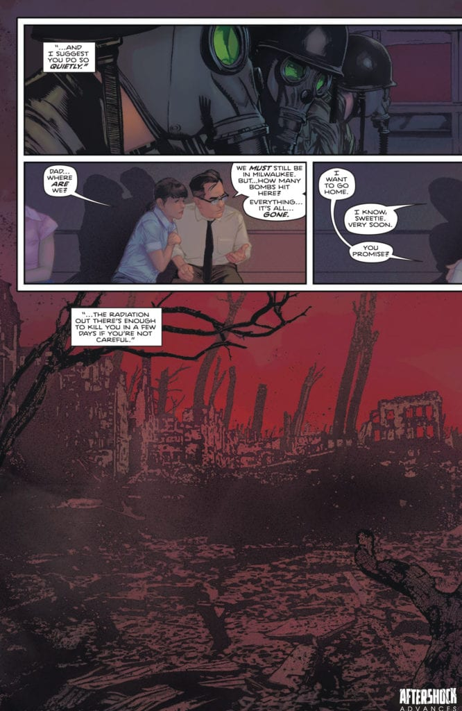4-Page Preview: NUCLEAR FAMILY #2 by Stephanie Phillips and Tony Shasteen