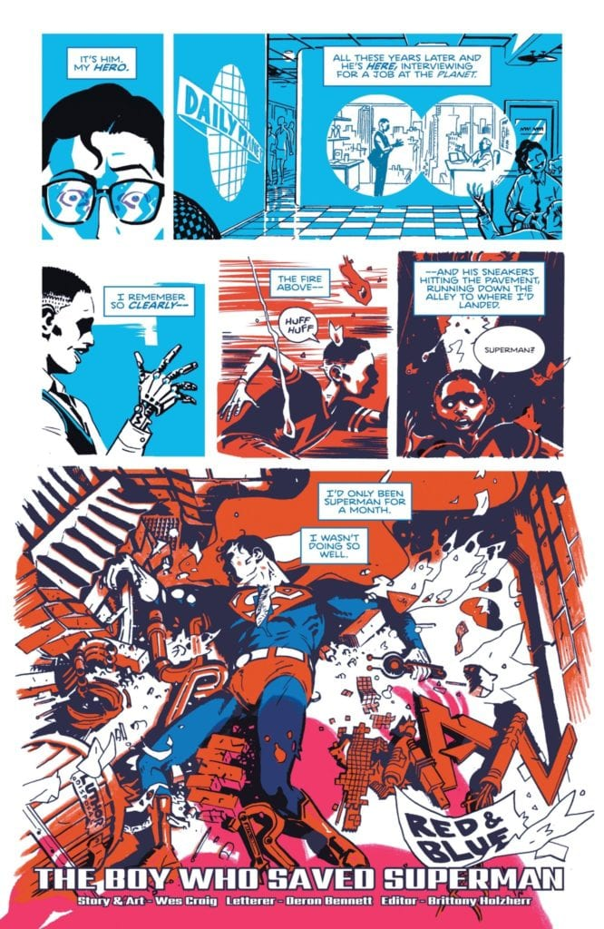Superman Red and Blue #1 premiere story