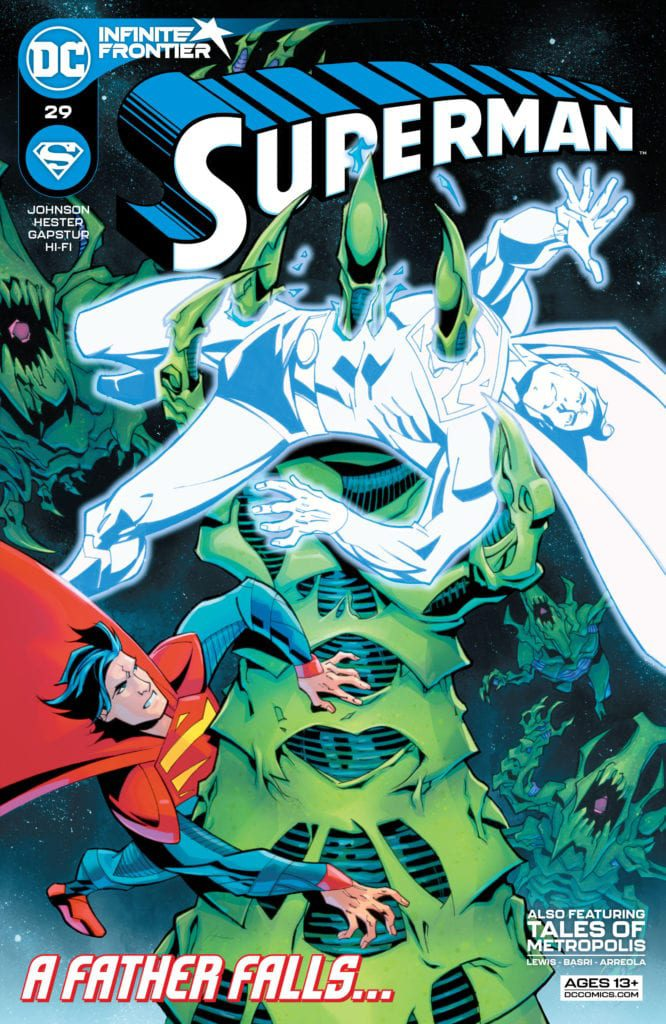 Superman 29 cover