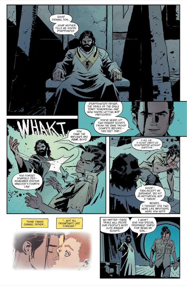 Scout's Honor #3 page arc