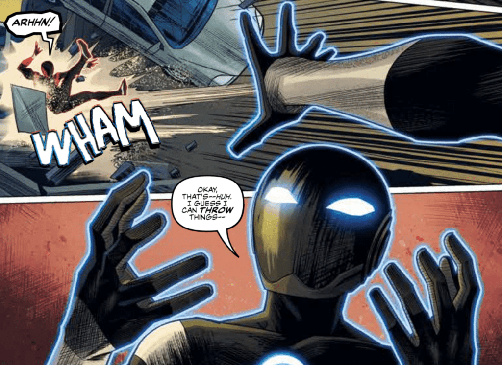 Radiant Black #2 Lettering Example