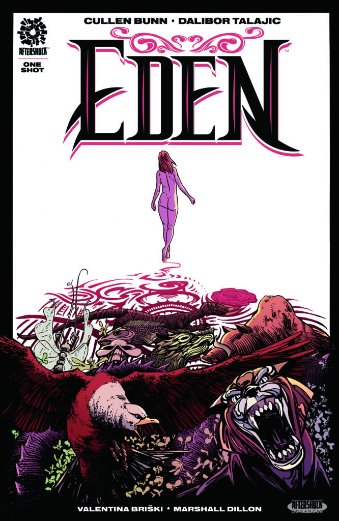 Cullen Bunn's EDEN - Read The First Five Pages Of The Horror/Romance