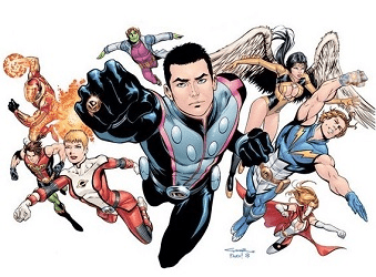 Legion of Super-Heroes DC's best space force