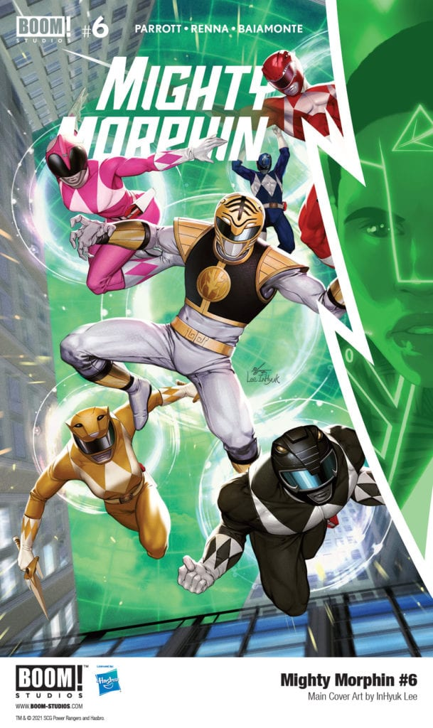 Exclusive Preview: MIGHTY MORPHIN #6