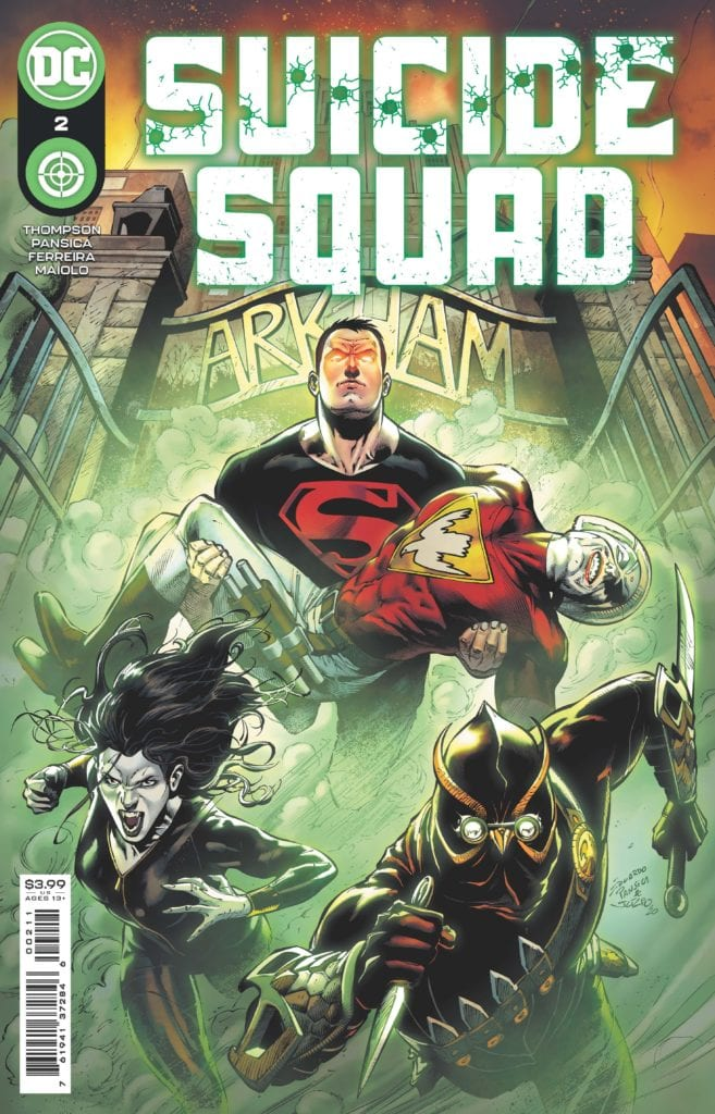 SUICIDE SQUAD: Robbie Thompson Talks Superboy's Mental Health