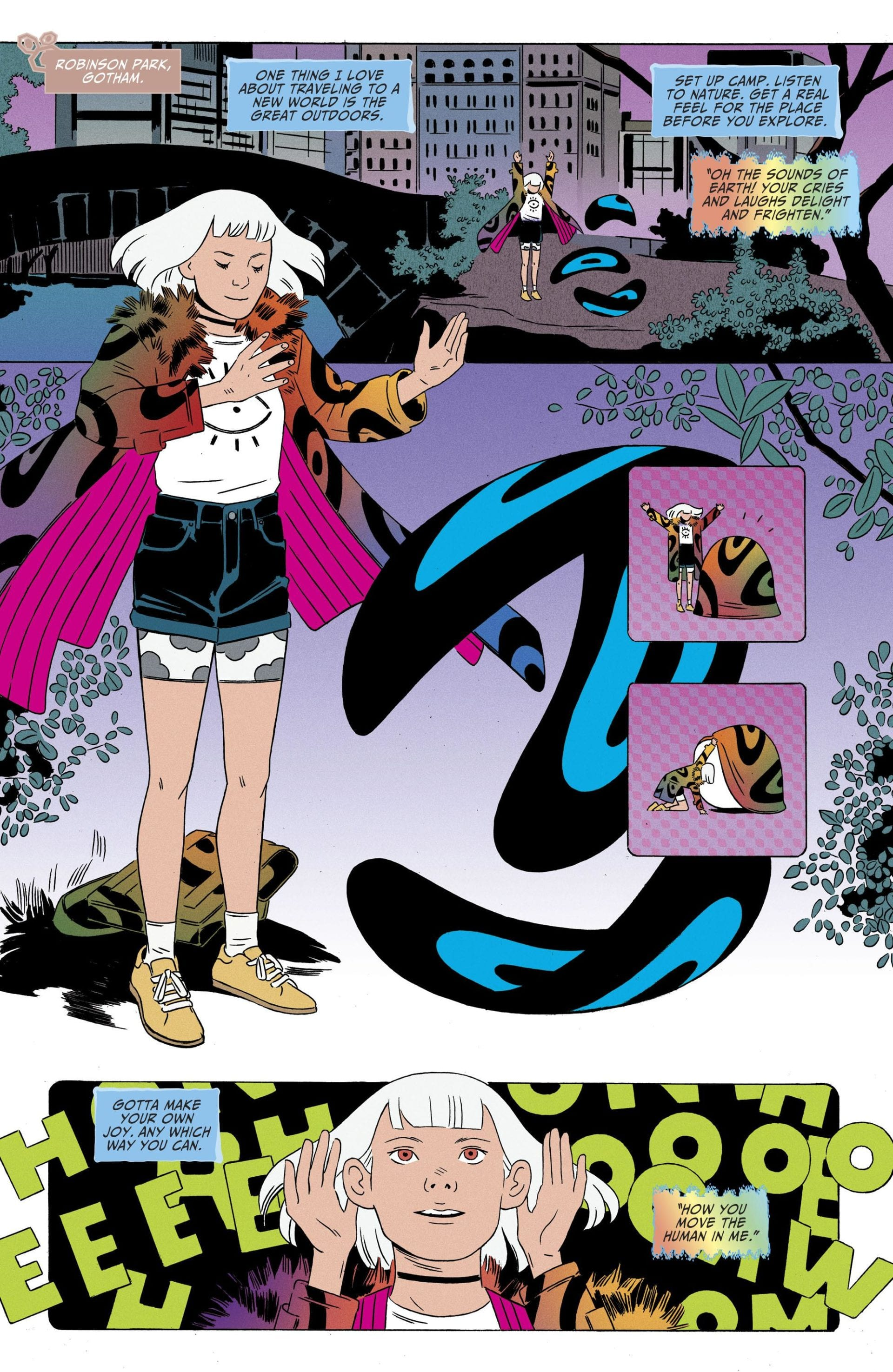 Shade, the Changing Man #10 - Invasion of the Normalcy