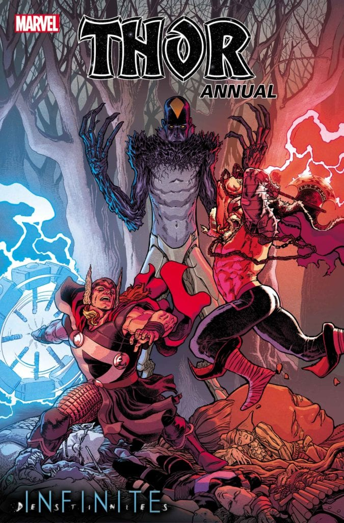 Check Out The Cover To THOR ANNUAL #1 - Infinite Destinies Crossover
