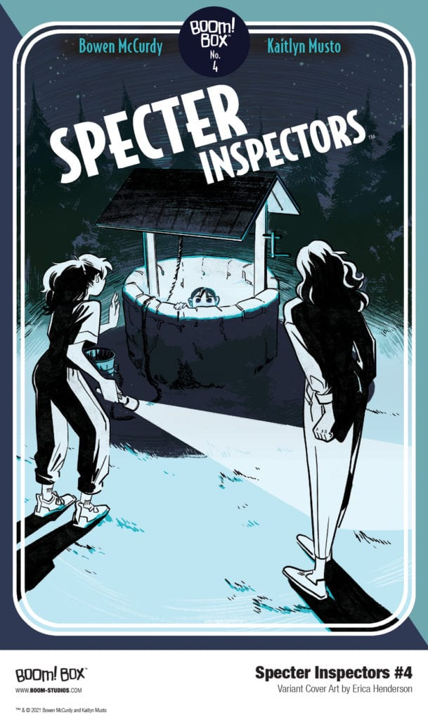 Exclusive First Look at SPECTER INSPECTORS #4