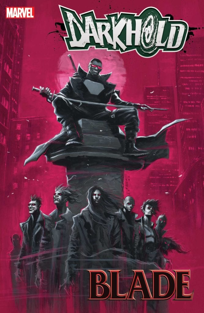 Exclusive Reveal: THE DARKHOLD: BLADE #1 From Marvel Comics