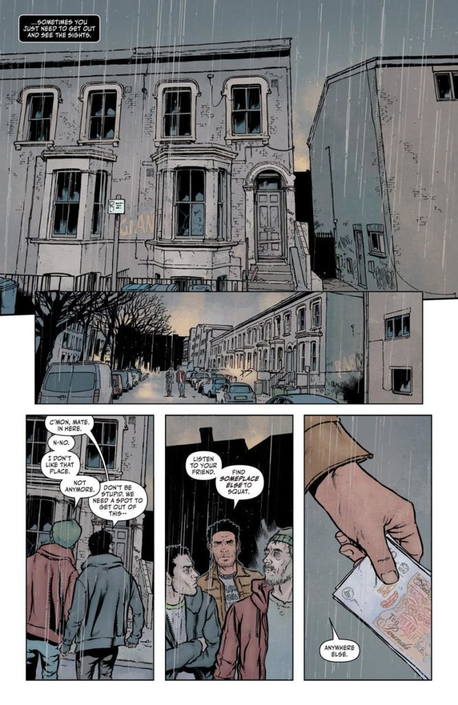 Shadowman #4 conclusion foreshadow