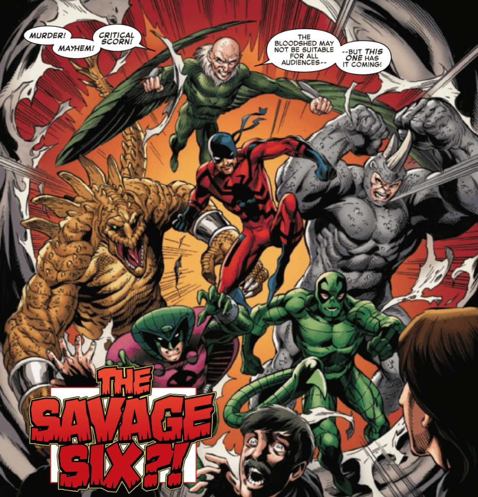 Sinister War #1 Color Example