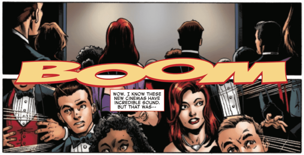 Sinister War #1 Lettering Example