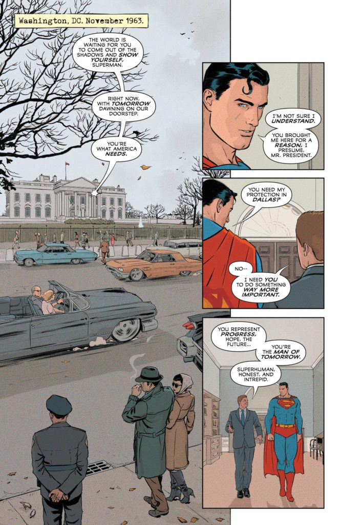 Superman and the Authority DC Comics Morrison