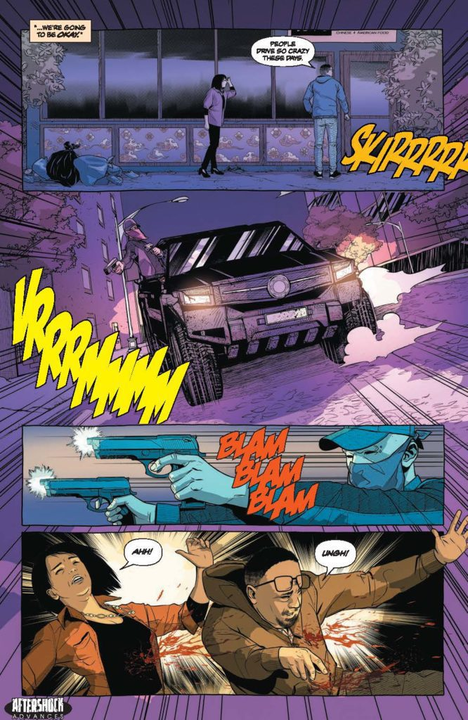 SEARCH FOR HU #1 aftershock comics exclusive preview