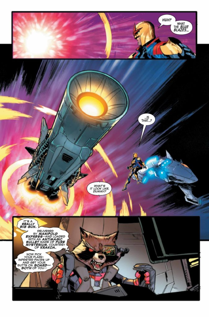 marvel comics exclusive preview guardians of the galaxy #18